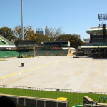 Protection of playing surface - NiB Stadium