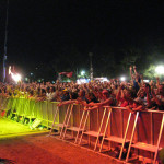 Stage Barriers for concerts