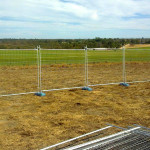 Boundary fence for event