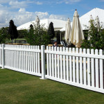 PVC fencing - Polo in the Valley